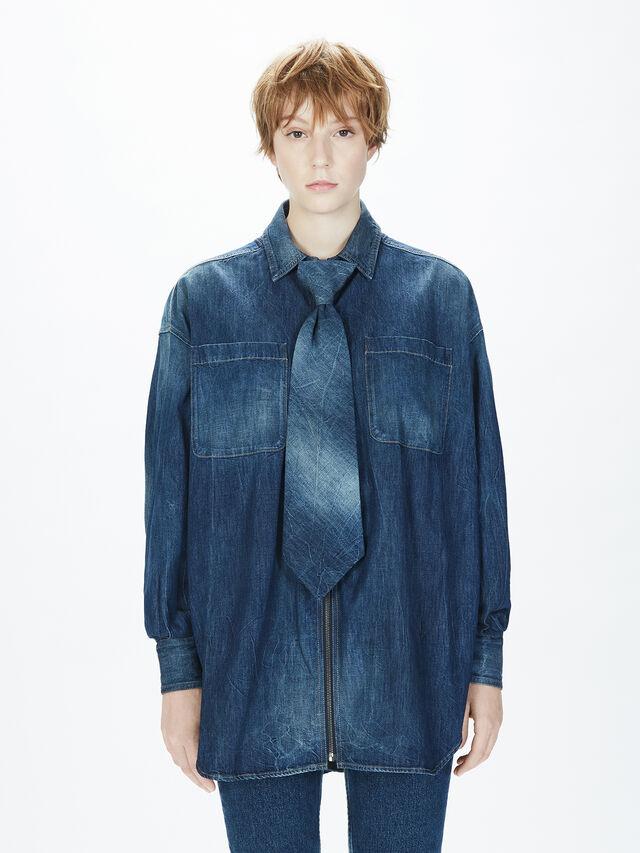 Diesel - SOTS01, Blu Jeans - Camicie - Image 4