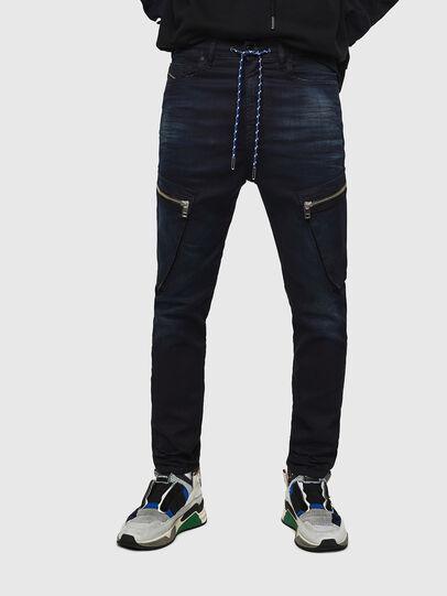 Diesel - D-Vider JoggJeans 069IC, Blu Scuro - Jeans - Image 1