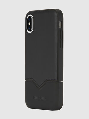 CREDIT CARD IPHONE X CASE, Nero - Cover