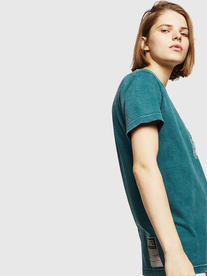 Diesel - T-FLAVIA-IC, Blu - T-Shirts - Image 3