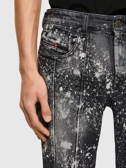 Diesel - D-Strukt 009SW, Grigio Chiaro - Jeans - Image 4