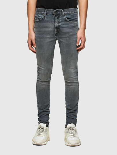 Diesel - D-Reeft JoggJeans® 069RD, Nero/Grigio scuro - Jeans - Image 1