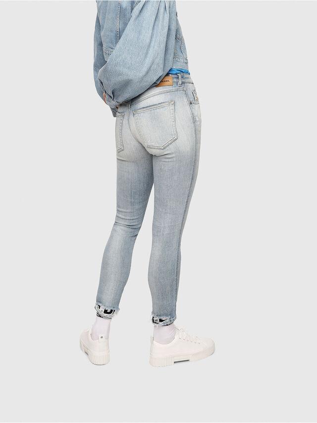 Diesel - Babhila 081AJ, Blu Chiaro - Jeans - Image 2