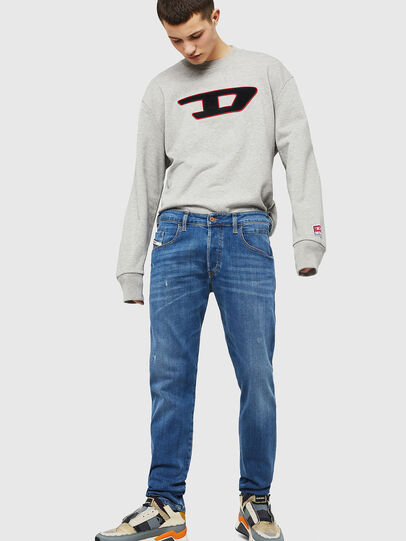 Diesel - D-Bazer 083AX, Blu Chiaro - Jeans - Image 4