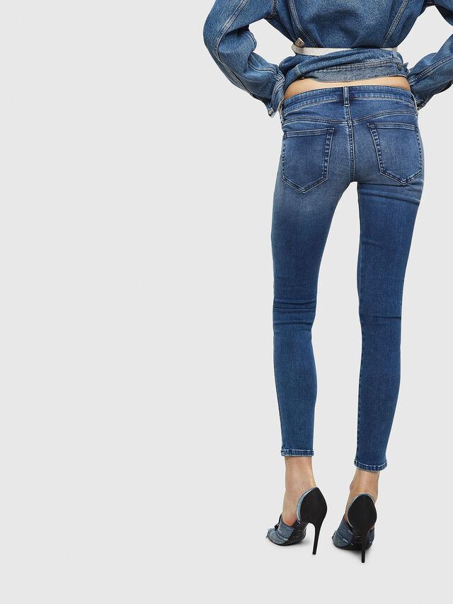 Diesel - Slandy Low 084NM, Blu medio - Jeans - Image 2