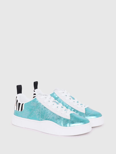 Diesel - S-CLEVER LOW LACE W, Azzurro - Sneakers - Image 2