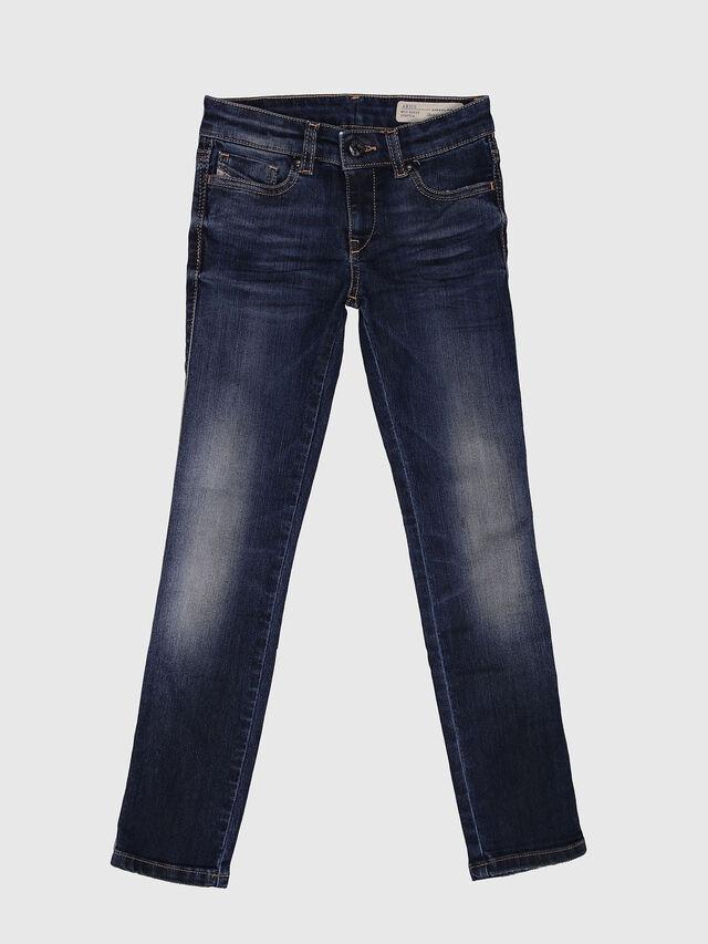 Diesel - SKINZEE-LOW-J-N, Blu Scuro - Jeans - Image 1