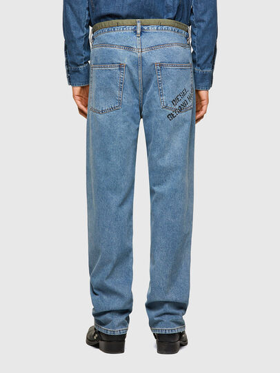 Diesel - DxD-P2 0CBBI, Blu Chiaro - Jeans - Image 3