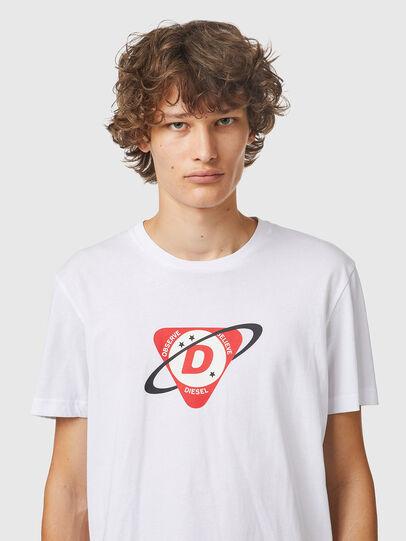 Diesel - T-DIEGOS-K24, Bianco - T-Shirts - Image 3