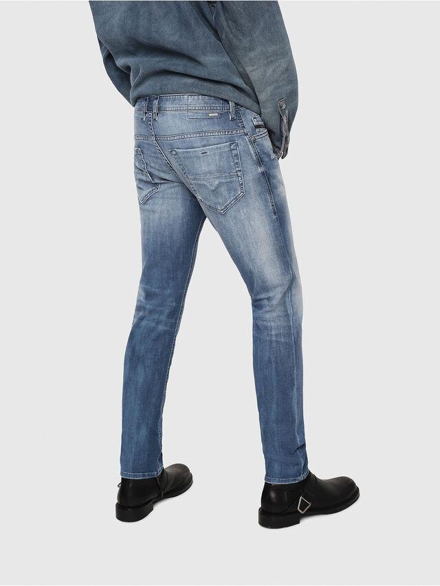 Diesel - Thommer 081AS, Blu medio - Jeans - Image 2