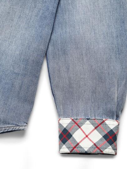 Diesel - D-DEEPCHECK-A, Blu Chiaro - Camicie in Denim - Image 4