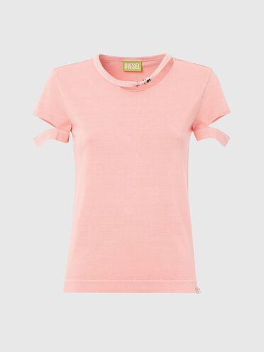 T-shirt Green Label con cut-out