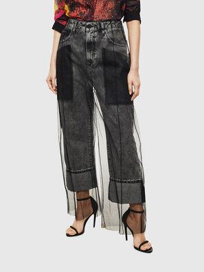 TYPE-1004, Nero - Jeans