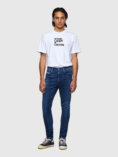Diesel - D-Istort 009ZX, Blu Scuro - Jeans - Image 5