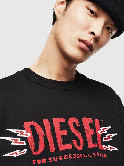 Diesel - CL-SNOR-LITMA, Nero - Felpe - Image 3