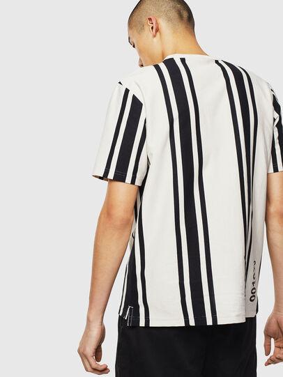 Diesel - T-STRIP-J1, Bianco/Nero - T-Shirts - Image 2