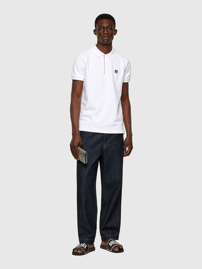Diesel - T-HARRY, Bianco - Polo - Image 4