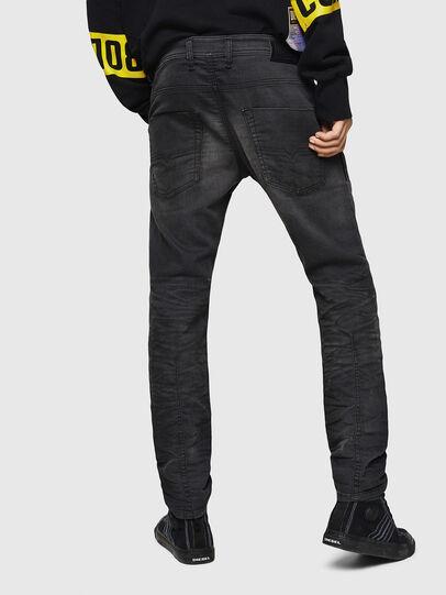 Diesel - Krooley JoggJeans 069GN, Nero/Grigio scuro - Jeans - Image 2