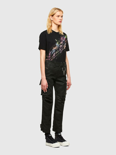 Diesel - T-JUST-A40, Nero - T-Shirts - Image 5