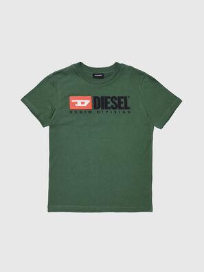 TJUSTDIVISION, Verde Bottiglia - T-shirts e Tops