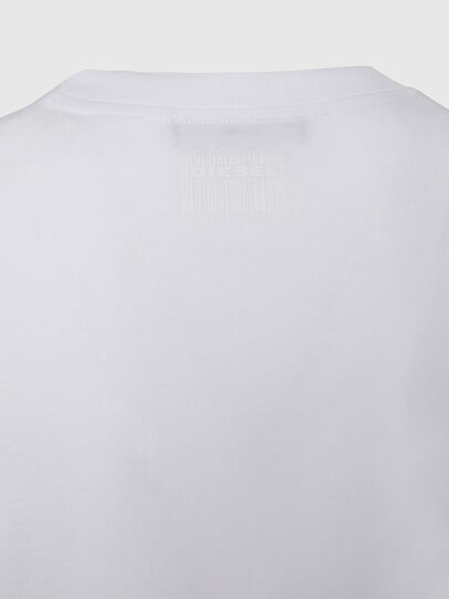 Diesel - T-SILY-E50, Bianco - T-Shirts - Image 4