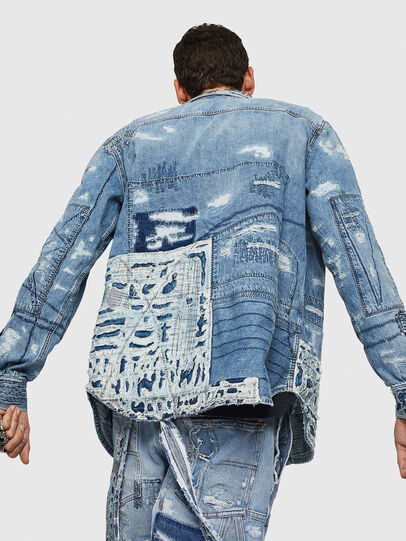 Diesel - D-HISAKY-SY, Blu Jeans - Camicie in Denim - Image 2