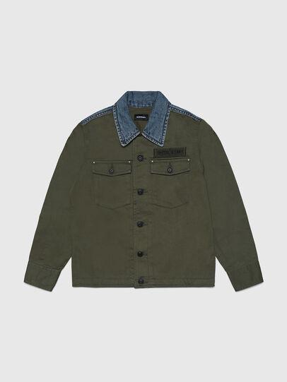 Diesel - COWALT, Verde Militare - Camicie - Image 1
