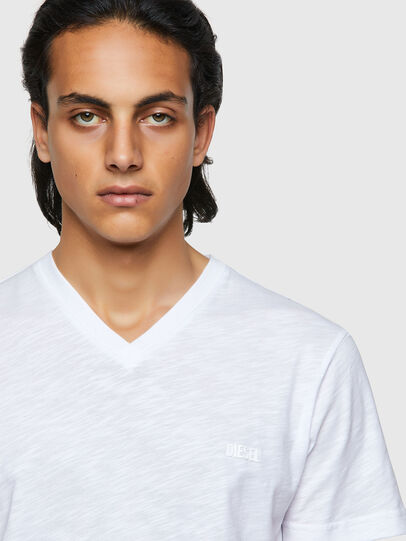 Diesel - T-NORRIE, Bianco - T-Shirts - Image 3