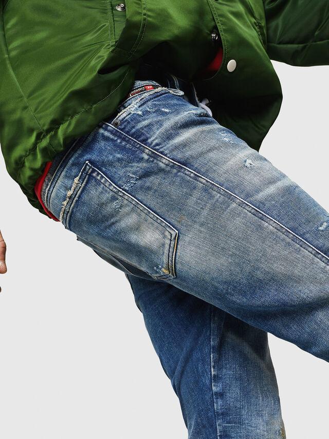 Diesel - D-Reeft JoggJeans 0870Q, Blu medio - Jeans - Image 3