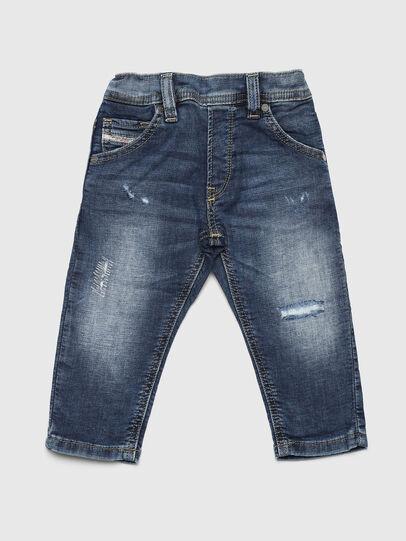Diesel - KROOLEY JOGGJEANS-B-N, Blu medio - Jeans - Image 1