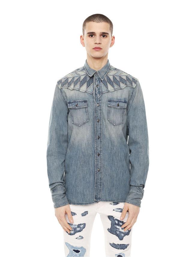 Diesel - SULLYVAN, Blu Jeans - Camicie - Image 1