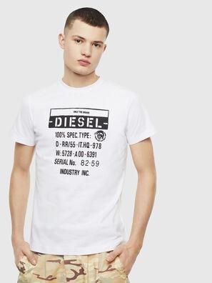T-DIEGO-S1, Bianco - T-Shirts