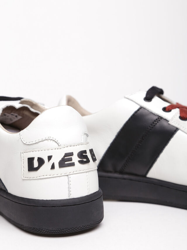 Diesel - S-MILLENIUM LC, Bianco/Nero - Sneakers - Image 4
