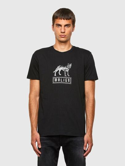 Diesel - T-DIEGOS-N20, Nero - T-Shirts - Image 1