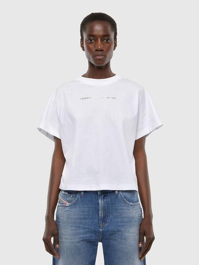 Diesel - T-SLOWLY, Bianco - T-Shirts - Image 1
