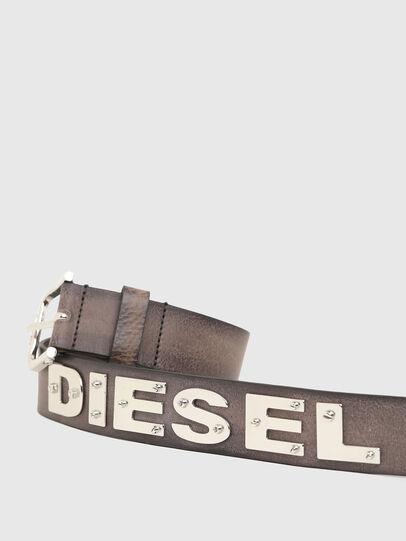 Diesel - B-DIZEL, Marrone - Cinture - Image 4