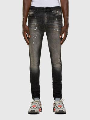 D-Reeft JoggJeans 009FX, Nero/Grigio scuro - Jeans