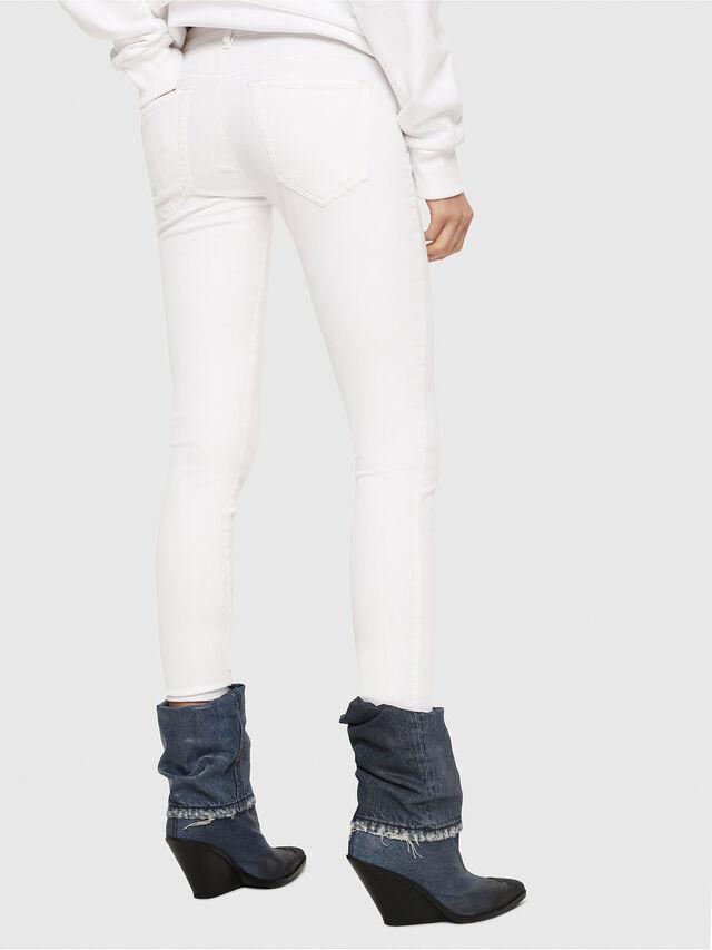 Diesel - Slandy Low 086AC, Bianco - Jeans - Image 2