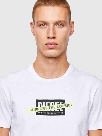 Diesel - T-DIEGOS-A3, Bianco - T-Shirts - Image 3