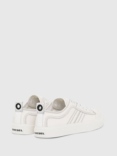 Diesel - S-ASTICO LOW LACE W, Bianco - Sneakers - Image 3