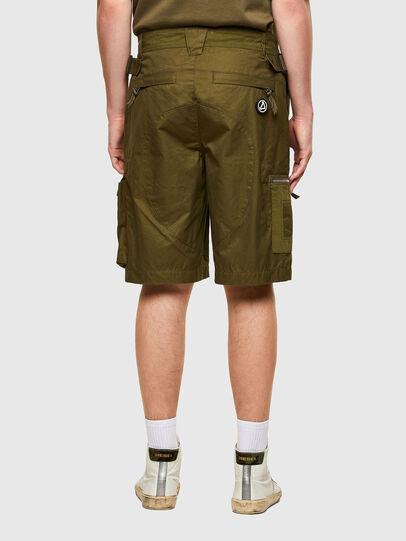 Diesel - P-CYAN-SHORT, Verde Militare - Shorts - Image 2