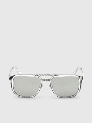 DL0294, Bianco/Nero - Occhiali da sole