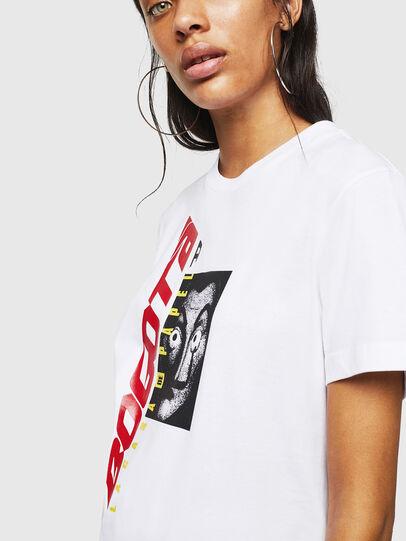 Diesel - LCP-T-DIEGO-BOGOTA, Bianco - T-Shirts - Image 5