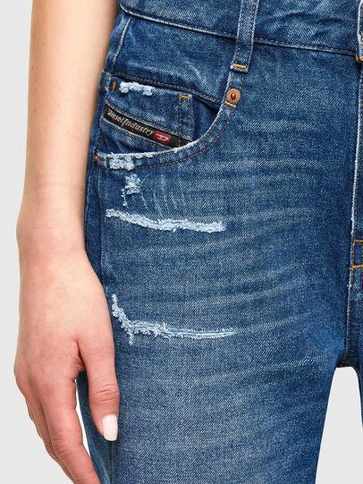 Diesel - Fayza 0079R, Blu medio - Jeans - Image 3
