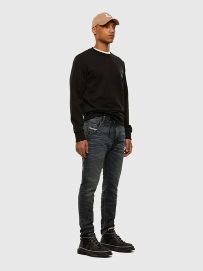 Diesel - Krooley JoggJeans 069NS, Blu Scuro - Jeans - Image 6
