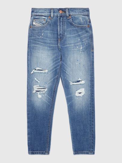 Diesel - D-VIDER-J, Blu Chiaro - Jeans - Image 1