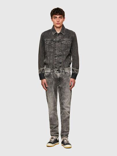 Diesel - D-Strukt 009KA, Grigio Chiaro - Jeans - Image 5