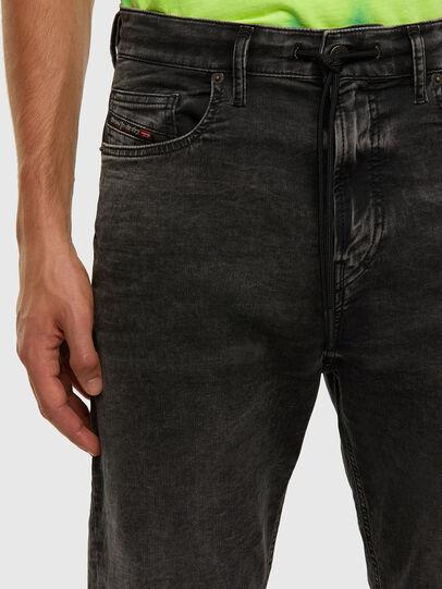 Diesel - D-VIDER JoggJeans® 009FZ, Nero/Grigio scuro - Jeans - Image 3