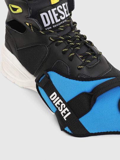 Diesel - S-SHARQUEZ MID, Nero - Sneakers - Image 4