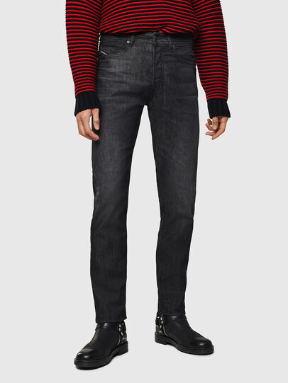 Diesel - Buster 082AT, Nero/Grigio scuro - Jeans - Image 1